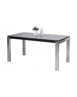 Auszugtisch Roc Keramik 4-Fuss silber 90 x 160/240 cm_29047