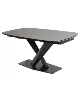 Auszugtisch Igna Keramik Mittelfuss schwarz 90 x 160/200/240 cm_29068