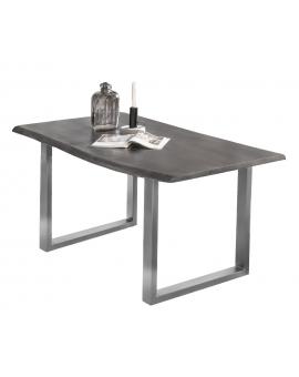 Tisch Altea antikgrau Metall antiksilber_29106