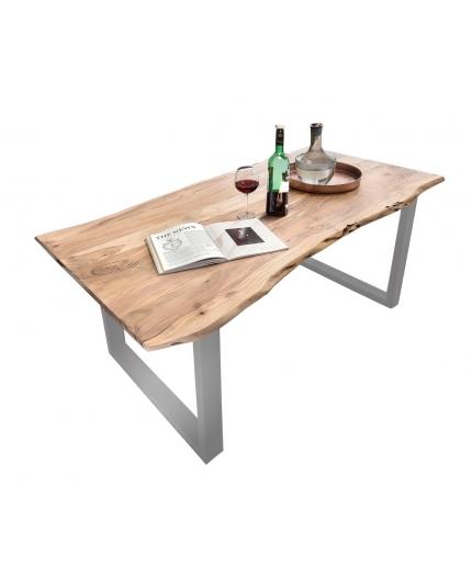 Tisch Altea natur Metall antiksilber_29116