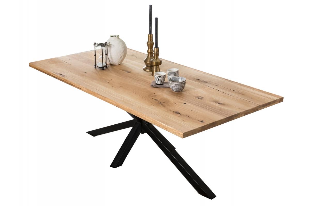 Tisch Archer Wildeiche Metall antikschwarz_29126