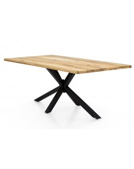 Tisch Archer Wildeiche Metall antikschwarz_29129