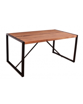 Tisch Asker natur Metall schwarz_29142
