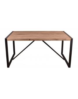 Tisch Asker natur Metall schwarz_29146