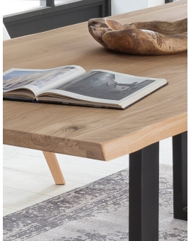 Tisch Buske Wildeiche Metall antikschwarz_29194