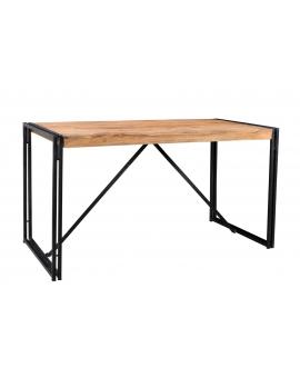 Tisch Gama natur Metall antikschwarz_29221