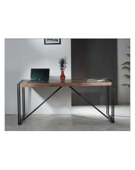 Tisch Gama natur Metall antikschwarz_29224