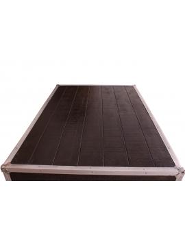Tisch Horda dunkelbraun Massivholz dunkelbraun 90 x 140 cm_29240