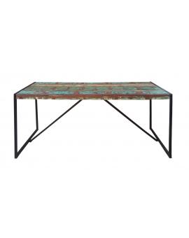 Tisch Karna bunt Metall schwarz_29276