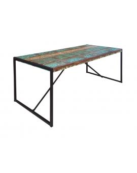 Tisch Karna bunt Metall schwarz_29277