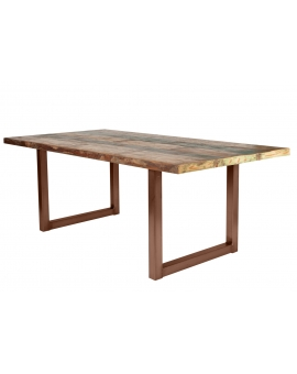 Tisch Mani bunt Metall antikschwarz_29382