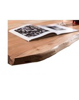 Tisch Porsu natur Kufe antiksilbern_29457