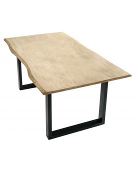 Tisch Sande gekalkt Metall schwarz_29483