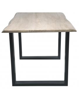 Tisch Sande gekalkt Metall schwarz_29486