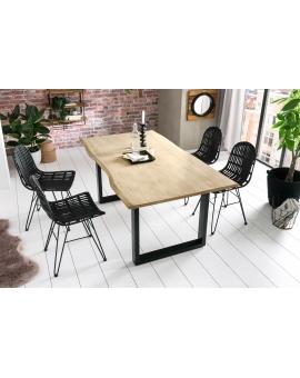Tisch Sande gekalkt Metall schwarz_29487