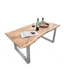 Tisch Sande natur Metall silber_29491