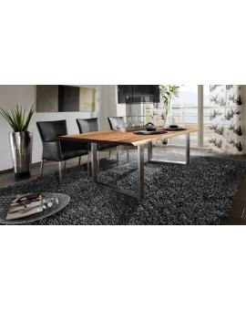 Tisch Sande natur Metall silber_29492