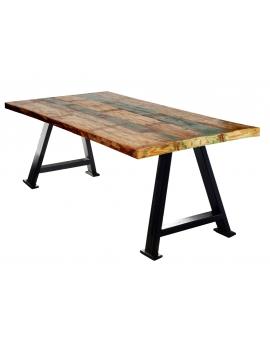 Tisch Suma bunt Metall antikschwarz_29534