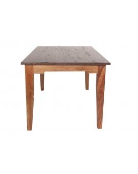 Tisch Teak braun Massivholz natur_29577
