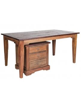 Tisch Teak braun Massivholz natur_29580