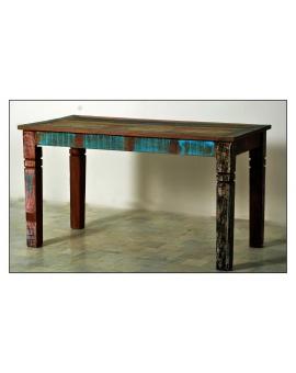 Tisch Roge bunt Massivholz 70 x 140 cm_29624