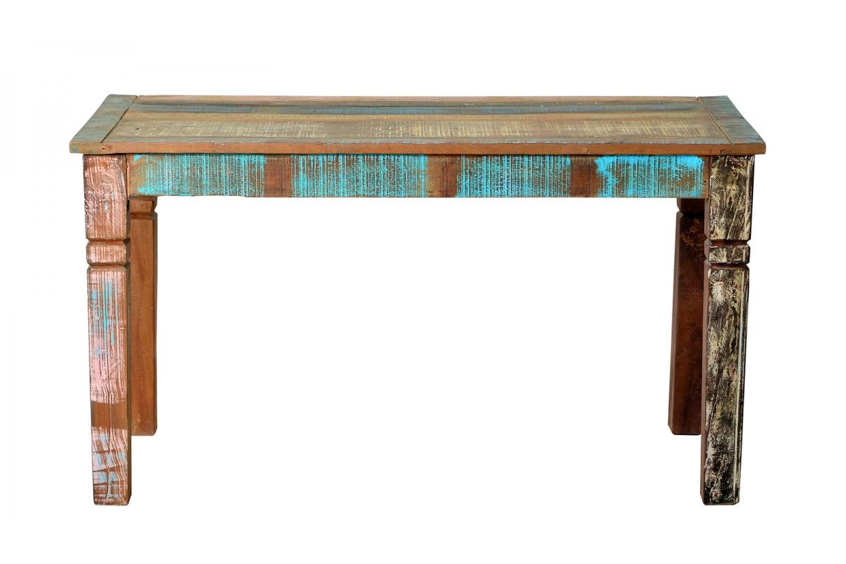 Tisch Roge bunt Massivholz 70 x 140 cm_29625