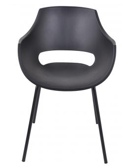 Ander 4-Fuss schwarz Kunststoff_30034