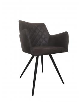 Axe 4-Fuss schwarz Textilleder_30069