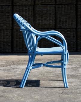 Celi 4-Fuss blau Rattan hellblau_30258