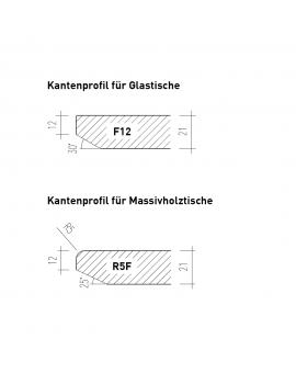 Rota Auszugtisch Am. Nussbaum Ø 120 + 60 cm_30639
