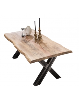 Tisch Aleo natur X-Fuss Industrie_31630