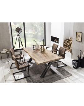 Tisch Aleo natur X-Fuss Industrie_31633