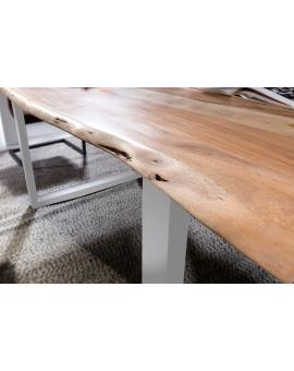 Tisch Skie natur Metall silber_31635
