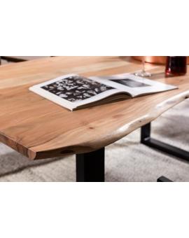 Tisch Skie natur Metall schwarz_31641